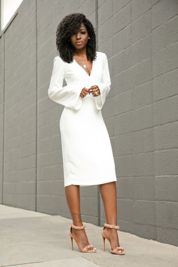 606f4b4cb53 white midi dresses 15 best outfits | All white and others 3 | Midi ...