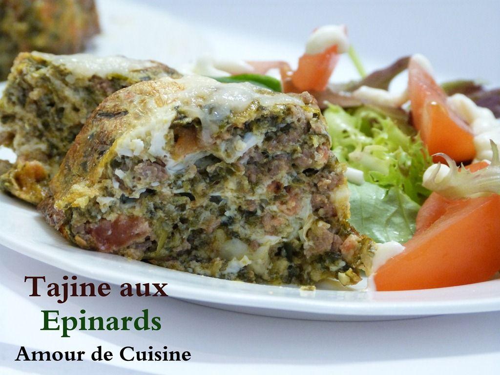 Tajine aux epinards recipe algerian food ramadan and for Algerienne cuisine