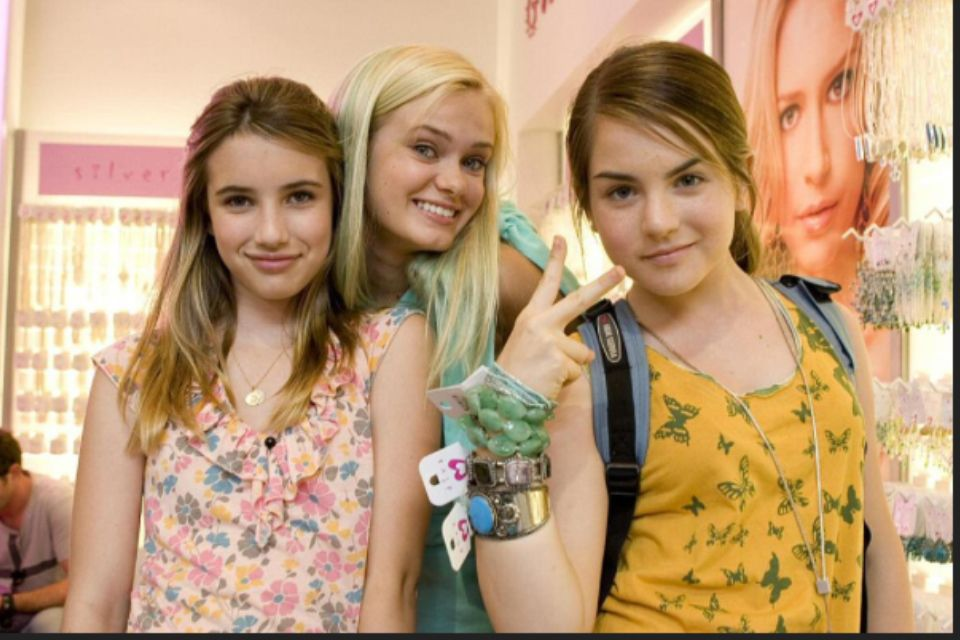 AquaMarine Emma Roberts, Sara Paxton, and JoJo love that ...