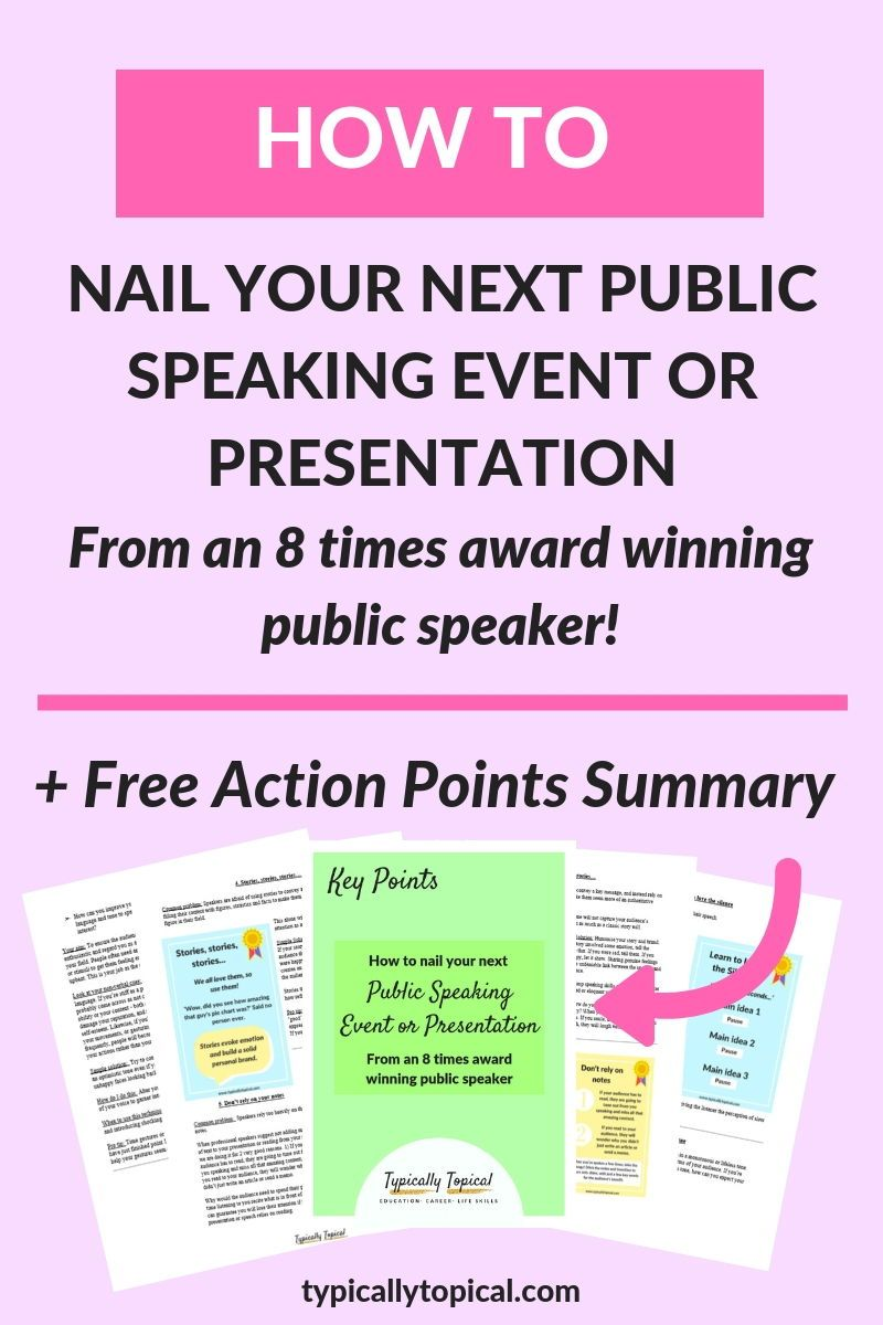 6 Top Tips on How to Nail your Next Public Speaking Event