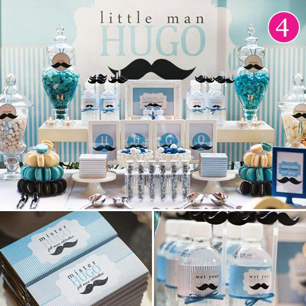 Baby Shower Mustache Theme: Ready To Pop, Jungle Cruise, Panda Party