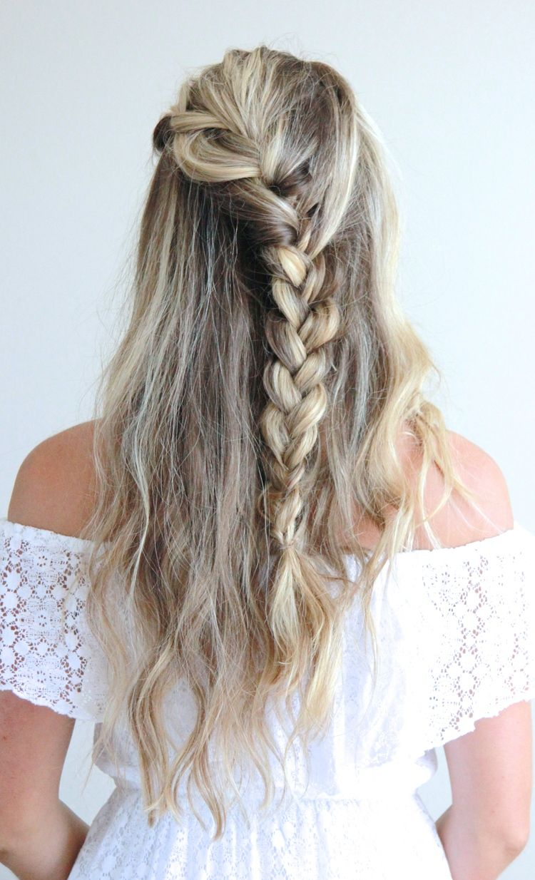 Tresemmé x afla waterfall braid tutorial braid tutorials hair