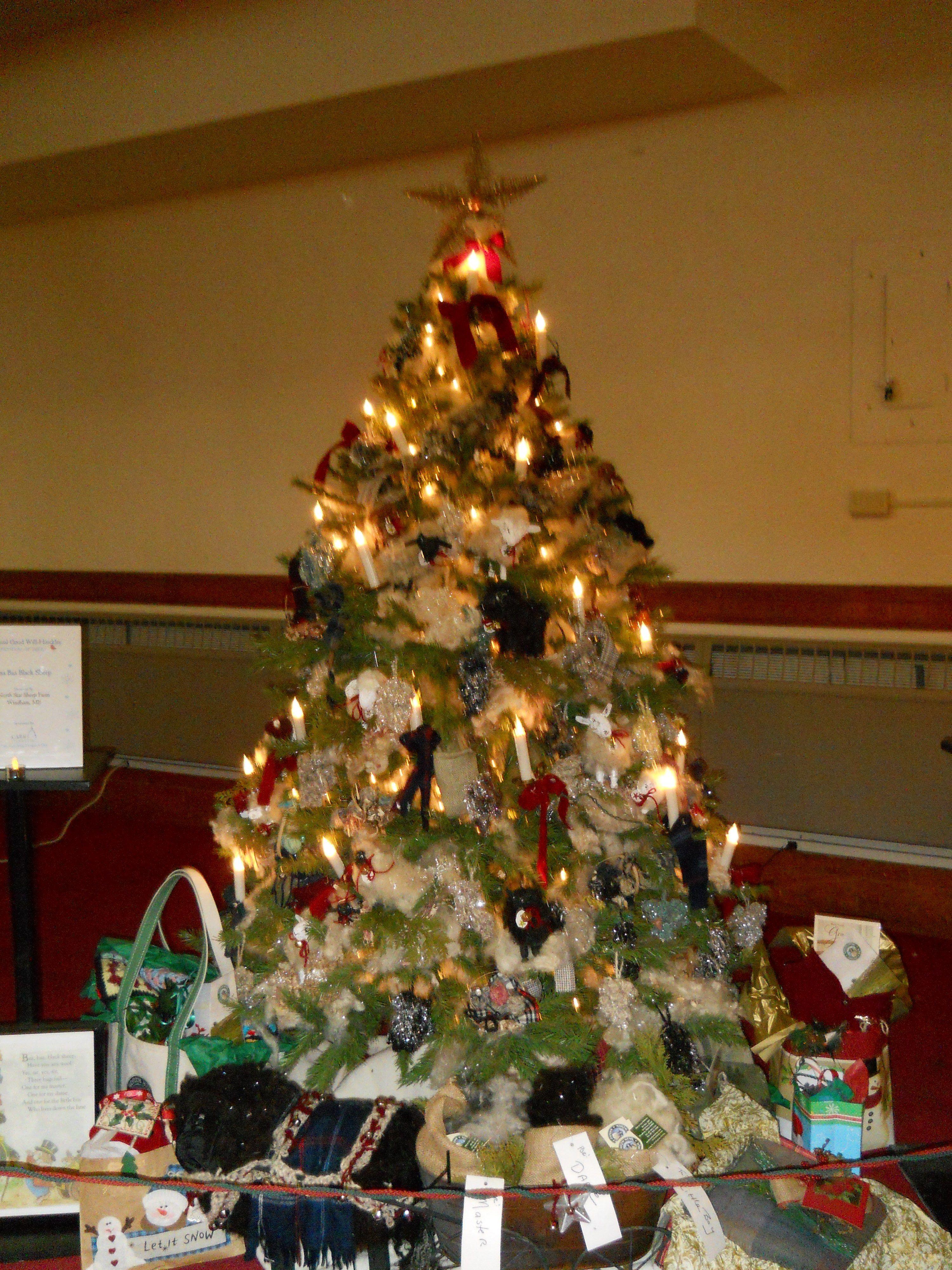 Little Lamb Wool Christmas Tree https://www.youtube.com/user ...