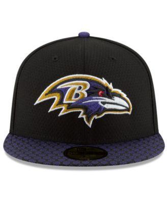 new style b7a09 6a3cc New Era Boys  Baltimore Ravens Sideline 59FIFTY Fitted Cap - Black Purple 6  3 8