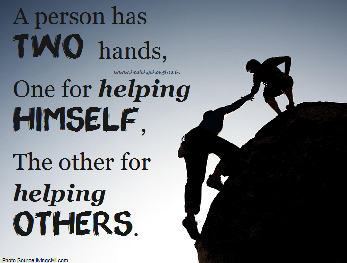You Have Two Hands To Inspirational Quotes Image Quotes Life Quotes