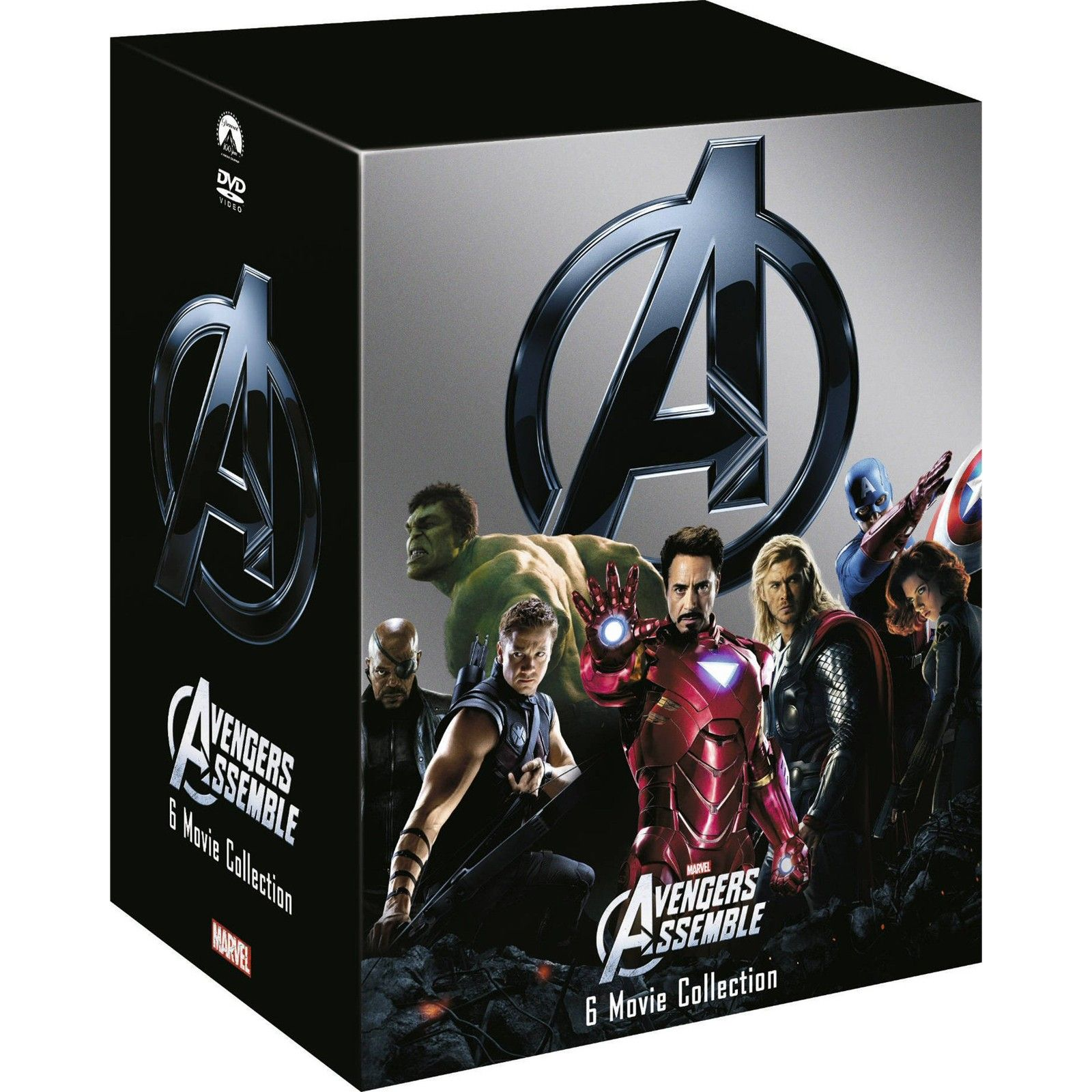 The Marvel S The Avengers International Collector S Set Box Set 6 Discs Six Degrees Of Avengers 29 99 Avengers Marvel Avengers Assemble Boxset
