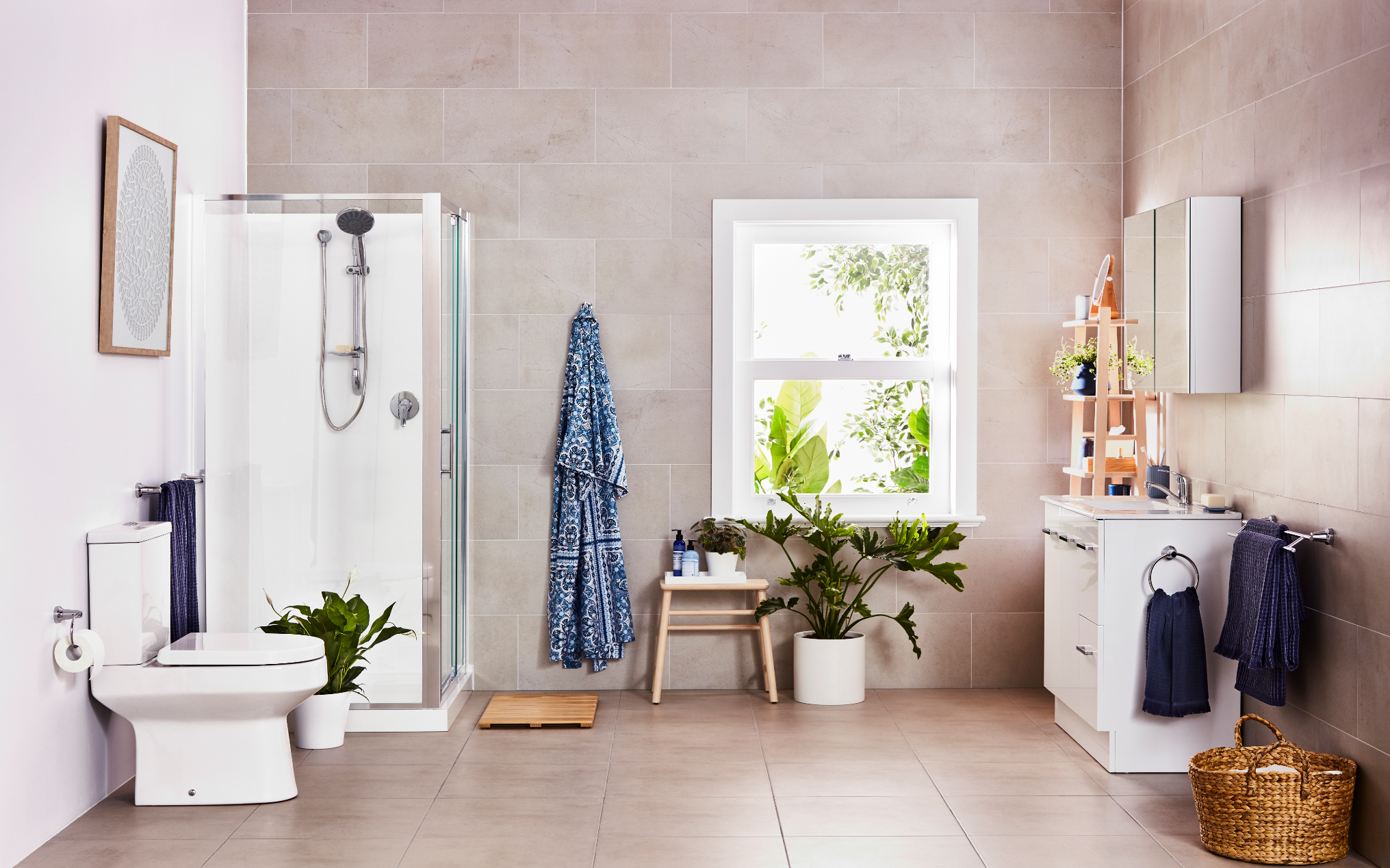 Timeless Bathroom Design Featuring The Cadenza Range From Mondella Bunnings Bunningsbathroom Bathroom Bathroom Style Timeless Bathroom Bathroom Design