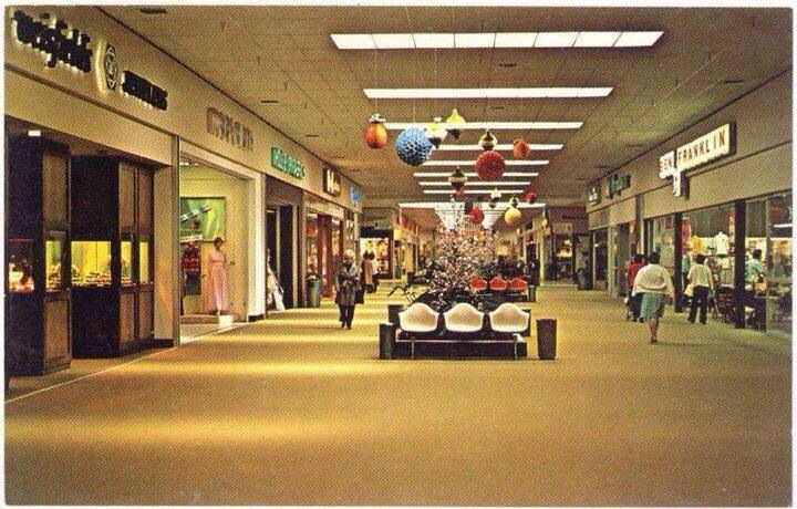 Interior Shot Of The Now Defunct North Valley Plaza Mall Courtesy