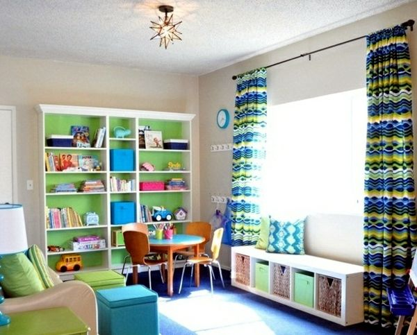 Playroom guest room combo google search playroom guest - Kids game room ideas ...