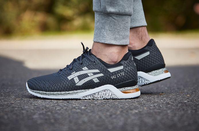 Mens Shoes ASICS Tiger GELLyte EVO Samurai Pack Dark Grey Light Grey HN5431613