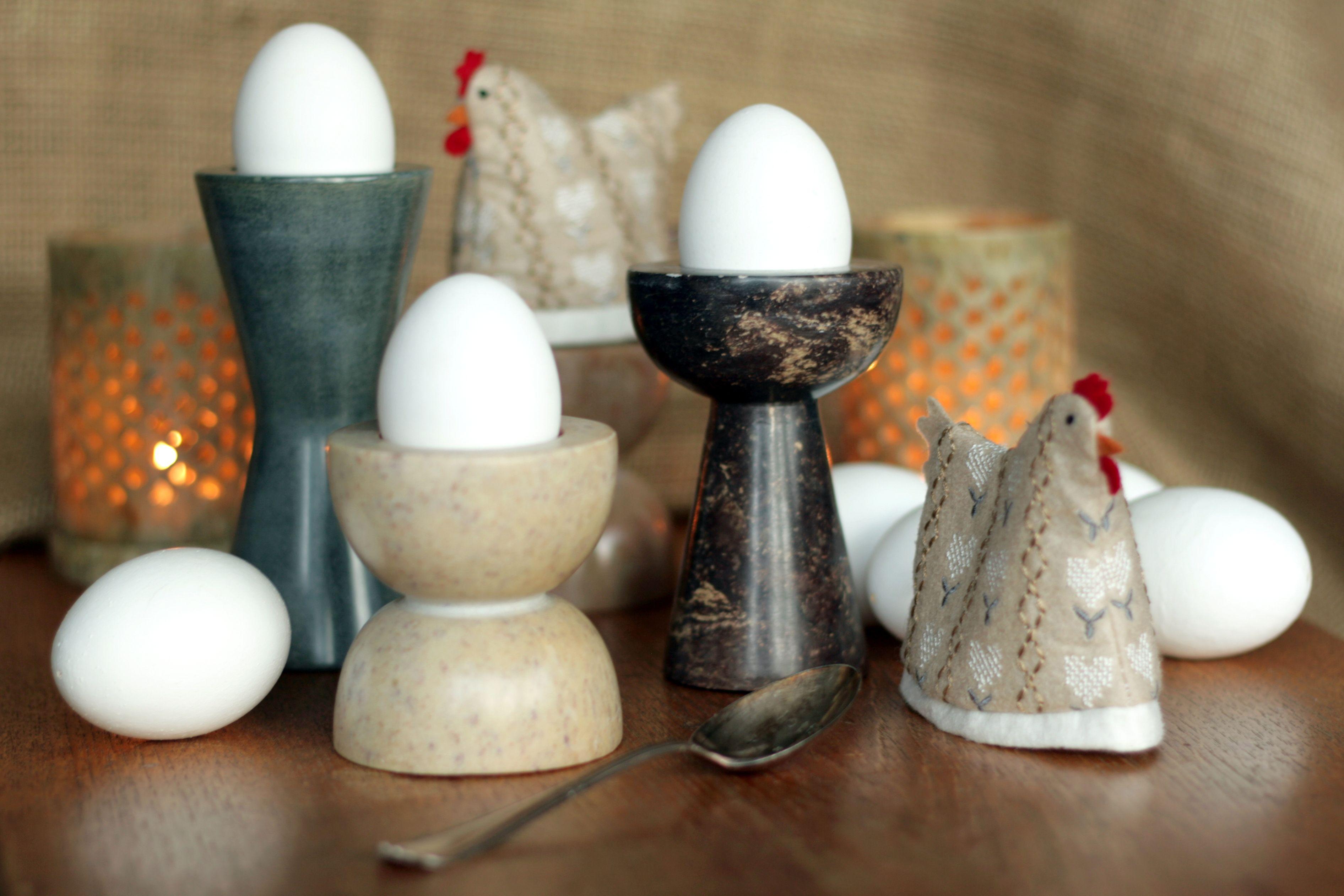 PartyLiten voit kattaa myös aamiasipöytään! #muna #kana