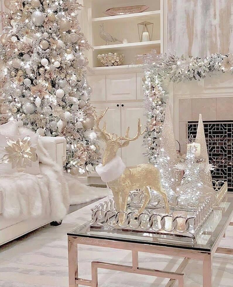 Clayre /& FED Décorations de Noël Maison Christmas Noël Shabby Vintage