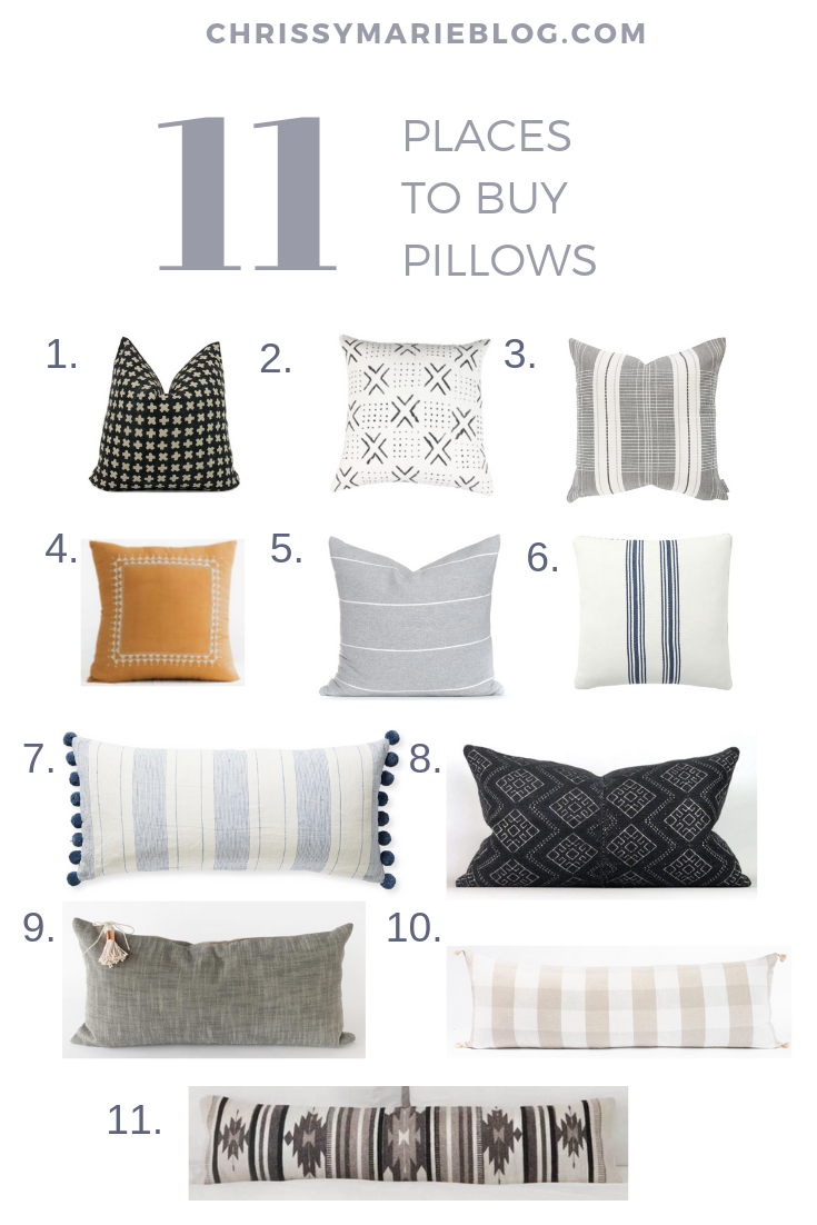 The Big Secret About Throw Pillows And My Fav Places To Buy Them Sofa Pillows Decorative Sofa Pillows Pillows