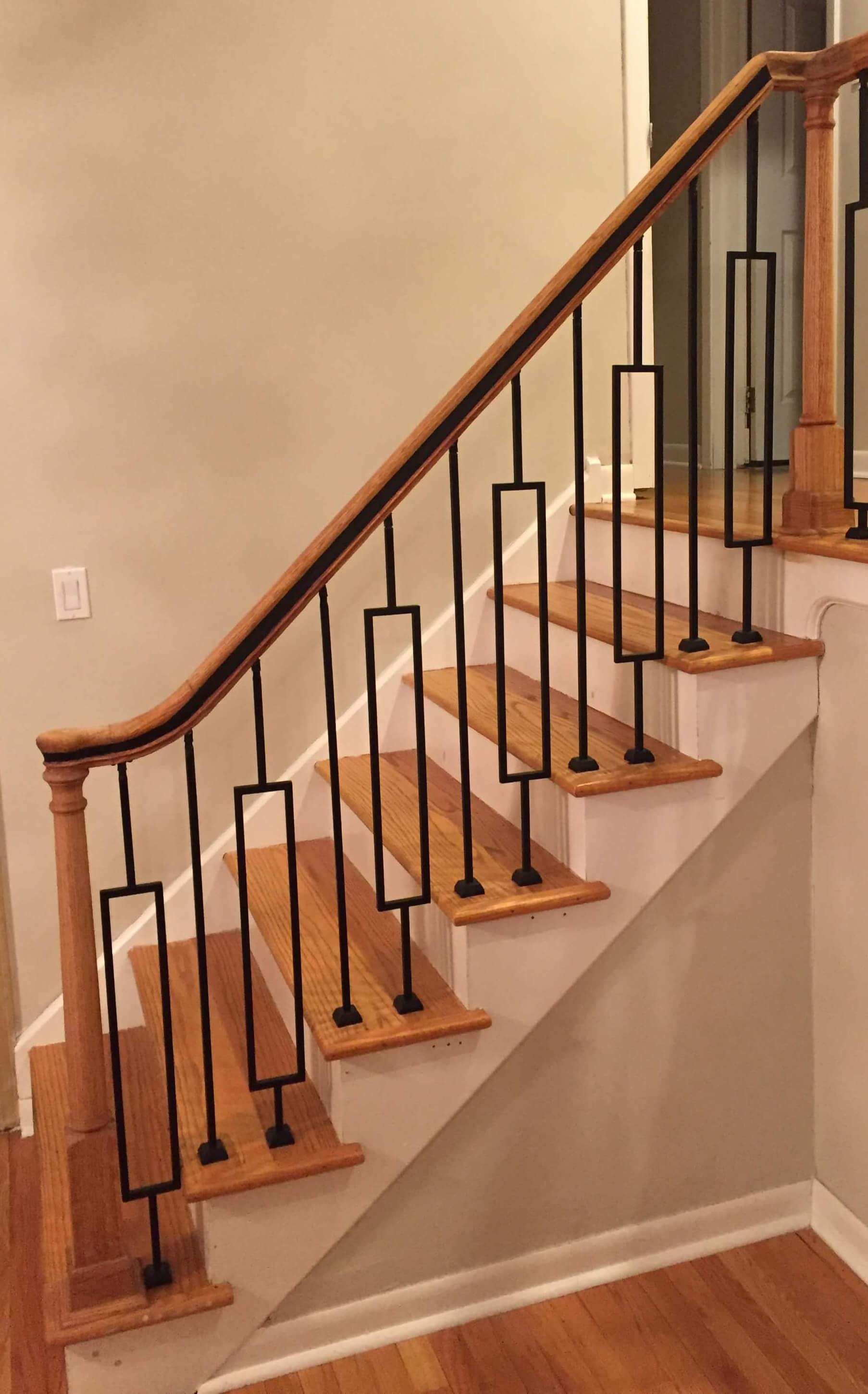indoor railing kits for stairs railing stairs and.htm contemporary series 1 2  square 3 3 4  x 44 h single rectangle  contemporary series 1 2  square 3 3 4
