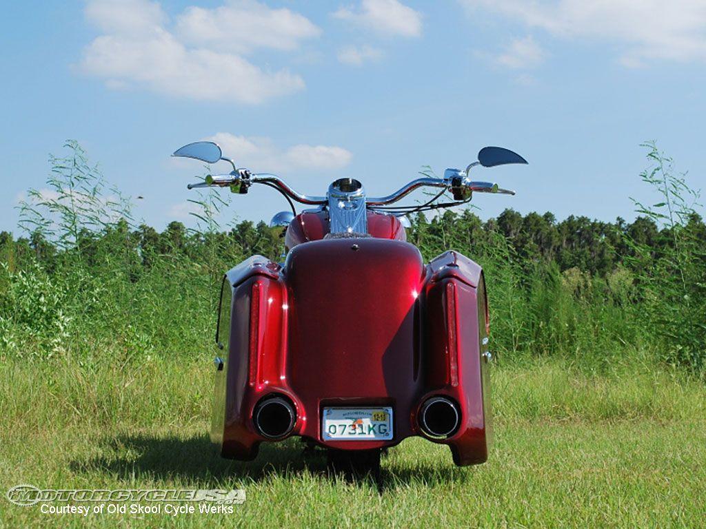 rear view Phatillac Hot bikes, Motorcycle, Harley davison