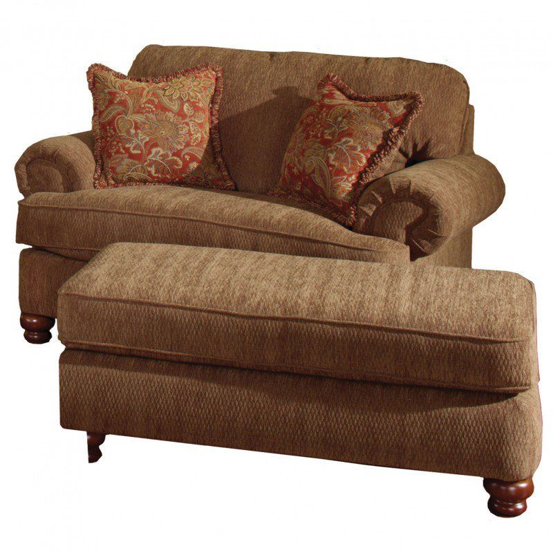 Best Jackson Belmont Chair And A Half In Umber With Optional 400 x 300
