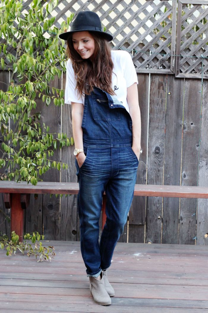 ae overalls, one shoulder