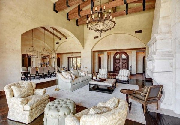 Bon Million Dollar Living Rooms | Million Dollar Home In Scottsdale Arizona Is  $24,500,000 House Design,