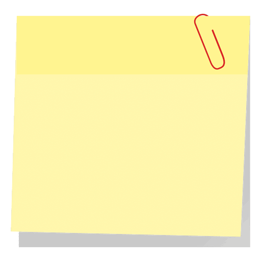 Yellow Sticky Note With Paperclip Ad Spon Affiliate Sticky Note Paperclip Yellow Yellow Sticky Notes Sticky Notes Page Marker