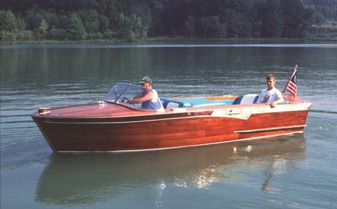 Banshee a 1963 19shepherd utility power boats cool