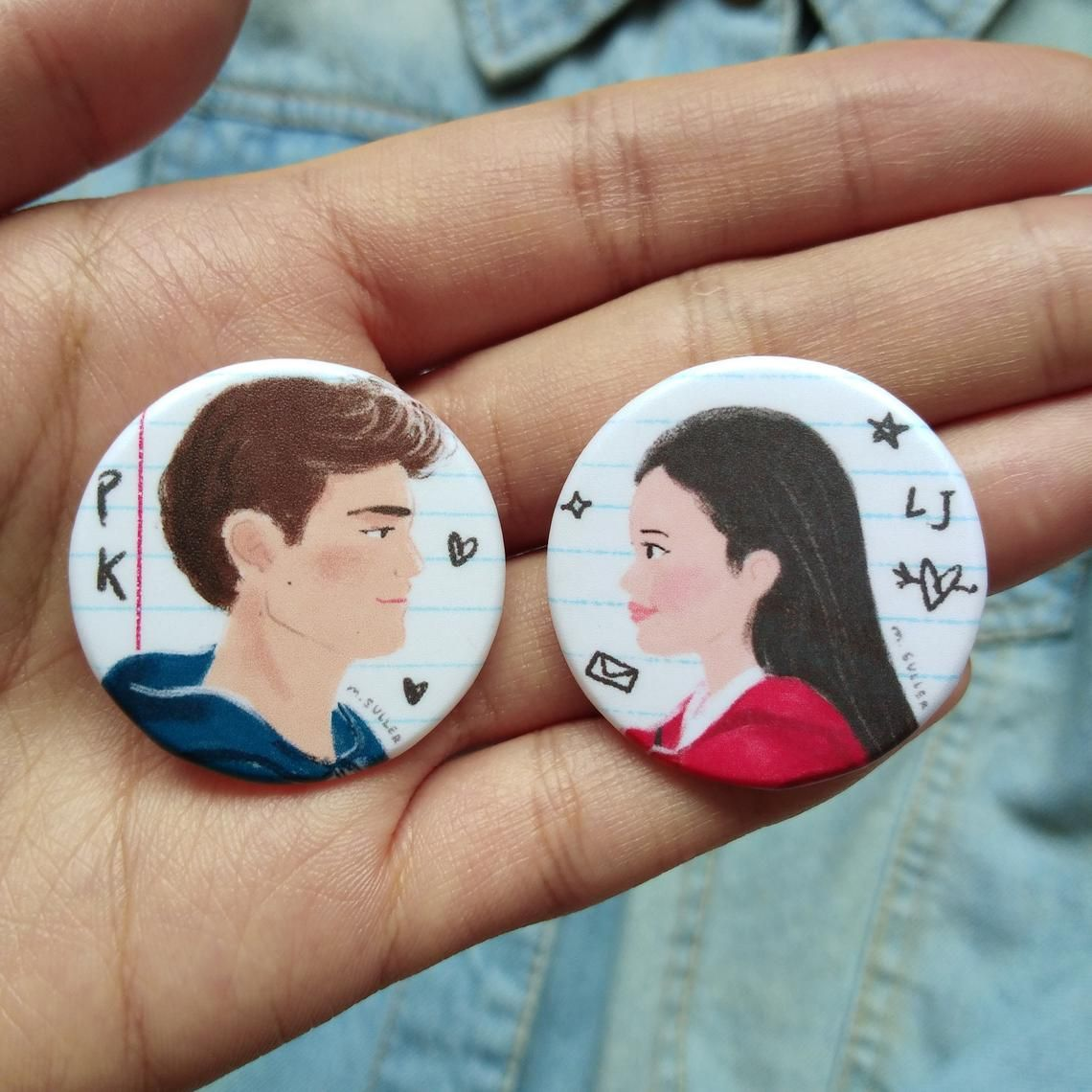 To All The Boys I Ve Loved Before Button Pins Peter Kavinsky Noah Centineo Lara Jean To All The Boys Always And Forever Yakult Lara Jean Boys Lara