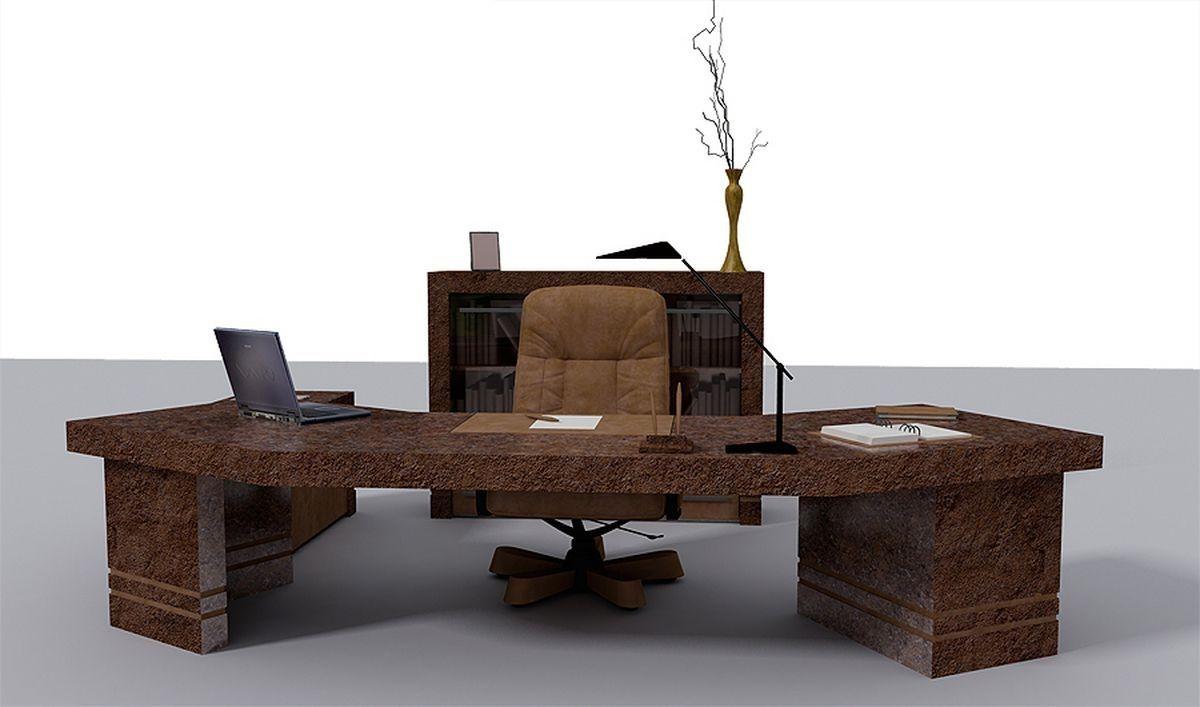 Elegant, But I Think I Want A Bigger Bookcase Behind The Desk