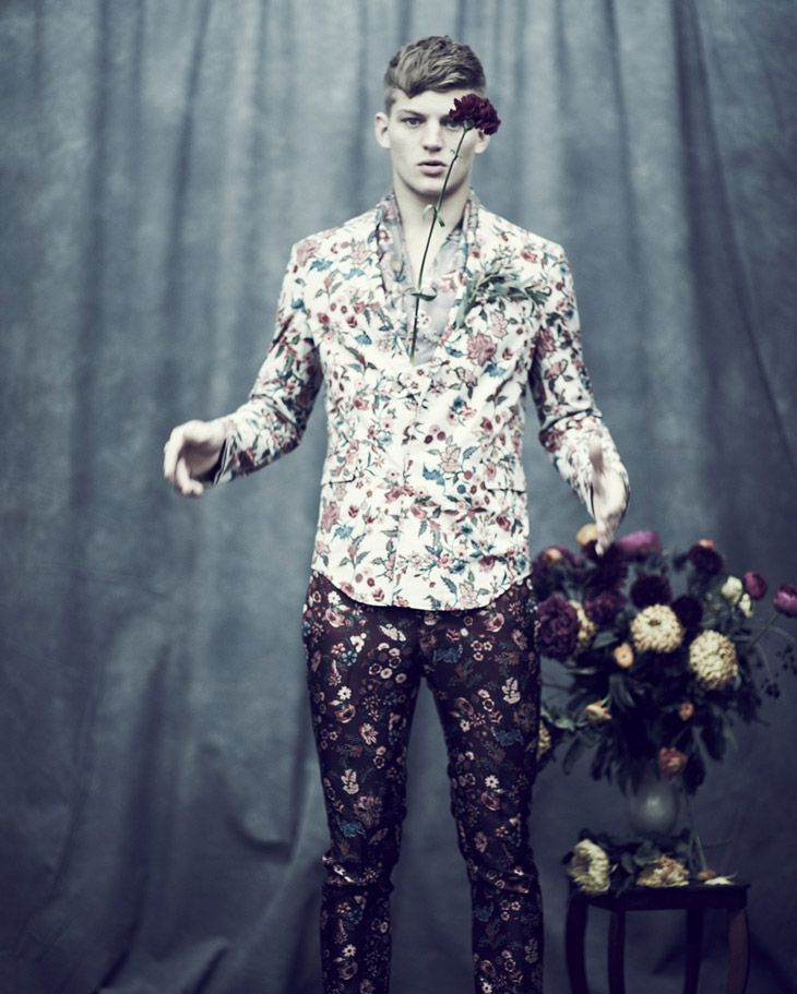men's fashion & style - In Bloom by Jason Hetherington for Observer...