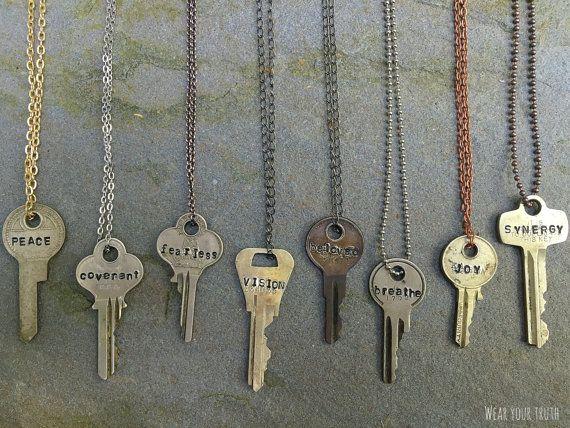 Truth key necklace