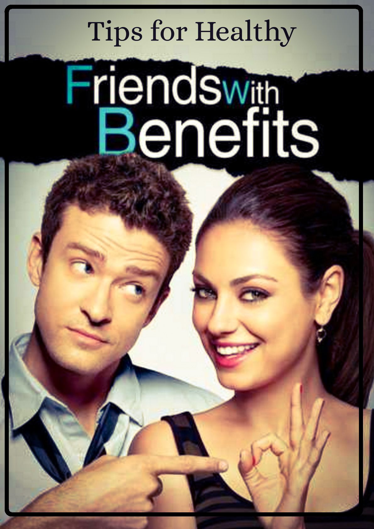 Starting a friends with benefits relationship