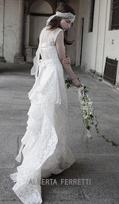 abito schönbrunn - gli abiti da sposa alberta ferretti
