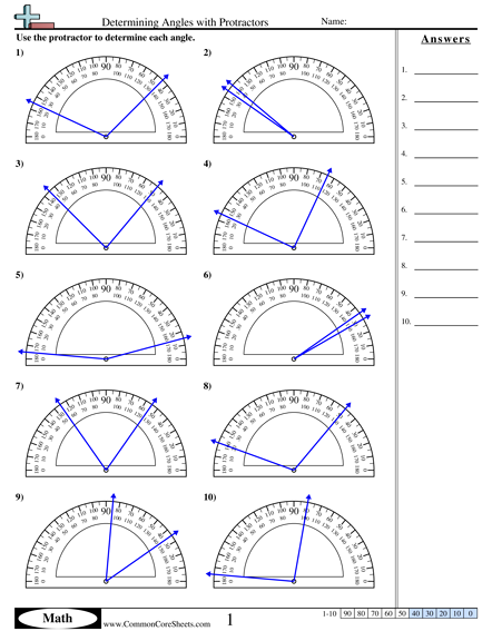 determining angles with protractors worksheet math math worksheets angles worksheet. Black Bedroom Furniture Sets. Home Design Ideas