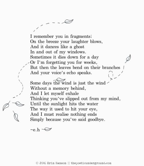 Fragments thepoeticunderground #poem #poetry ah! love a - goodbye letter