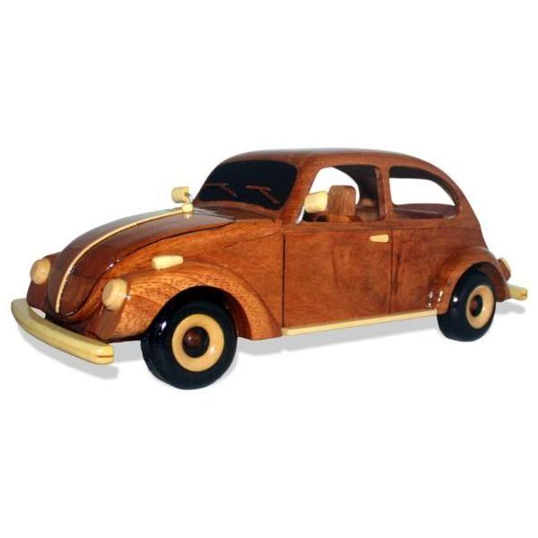 Volkswagen Beetle Bug Handmade Carved Wooden Model Car Home Or Office 2041 51 99 Carro De Madeira Carrinho De Madeira Artesanato Em Madeira