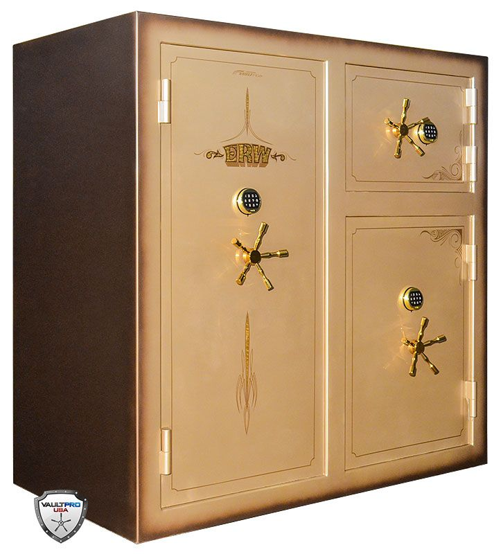 Custom Monster triple door gun safe by Vault Pro USA