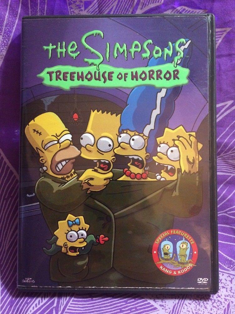 The Simpsons: Treehouse of Horror - 2003 DVD Episodes V, VI, VII
