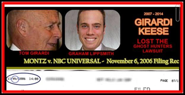 Plaintiffs Attorneys Tom Girardi And Graham Lippsmith Of Girardi Keese Ghost Hunters Publicist Attorneys