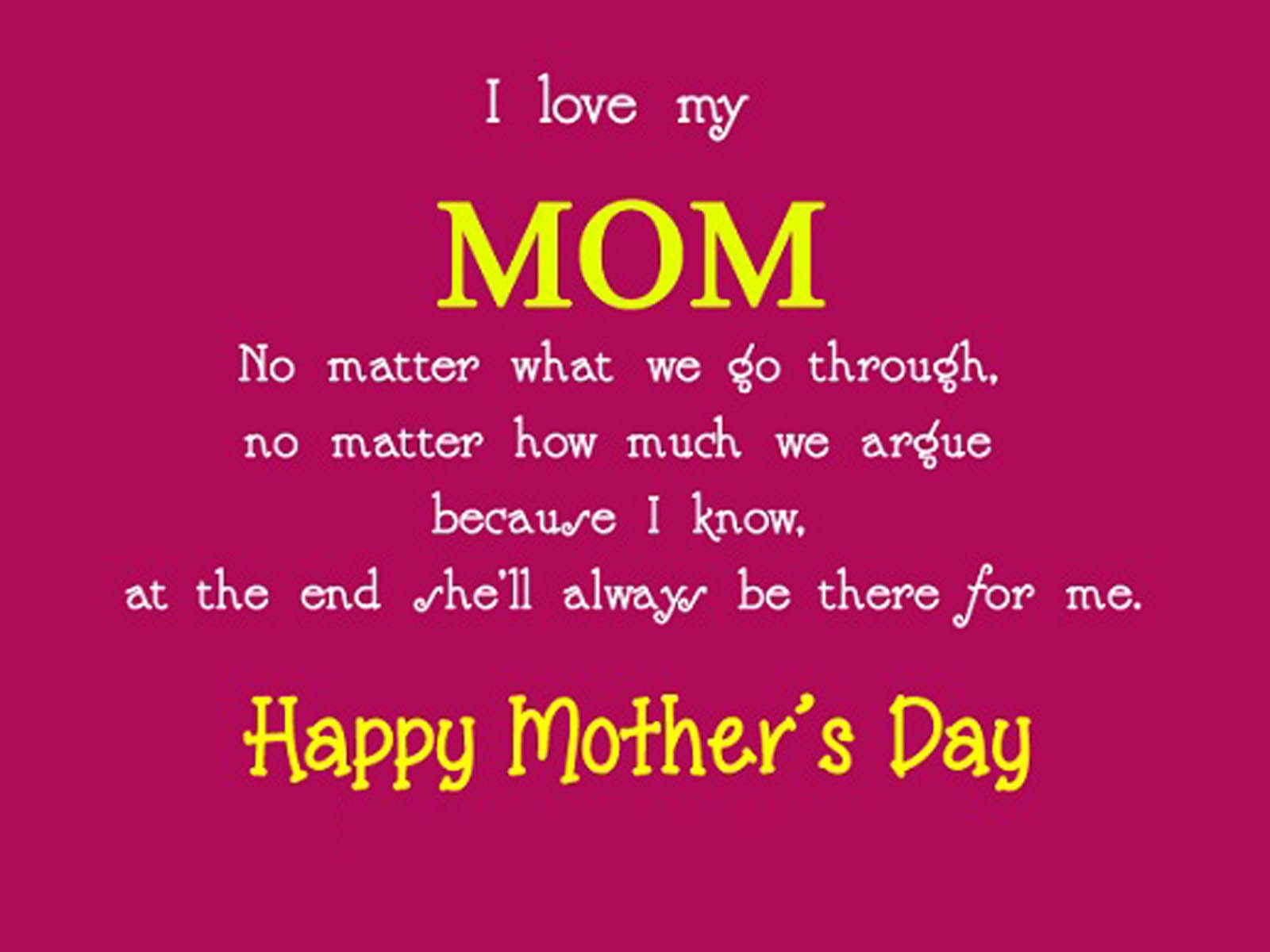 Mothers Day Quotes Happy Mother's Day Quotes And Messages To Wish Your Mom  Happy