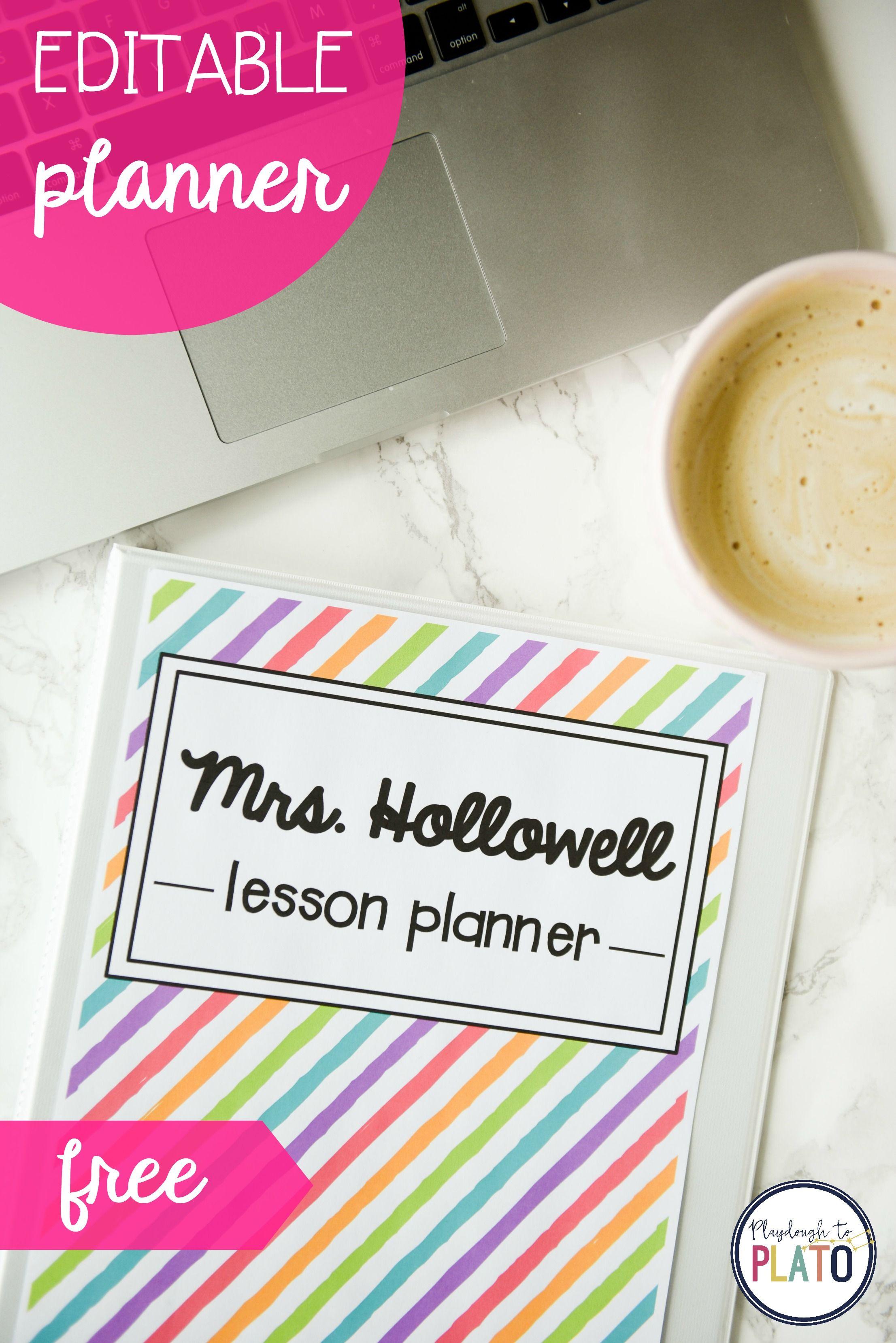 free teacher planner teachers gonna teach pinterest teacher