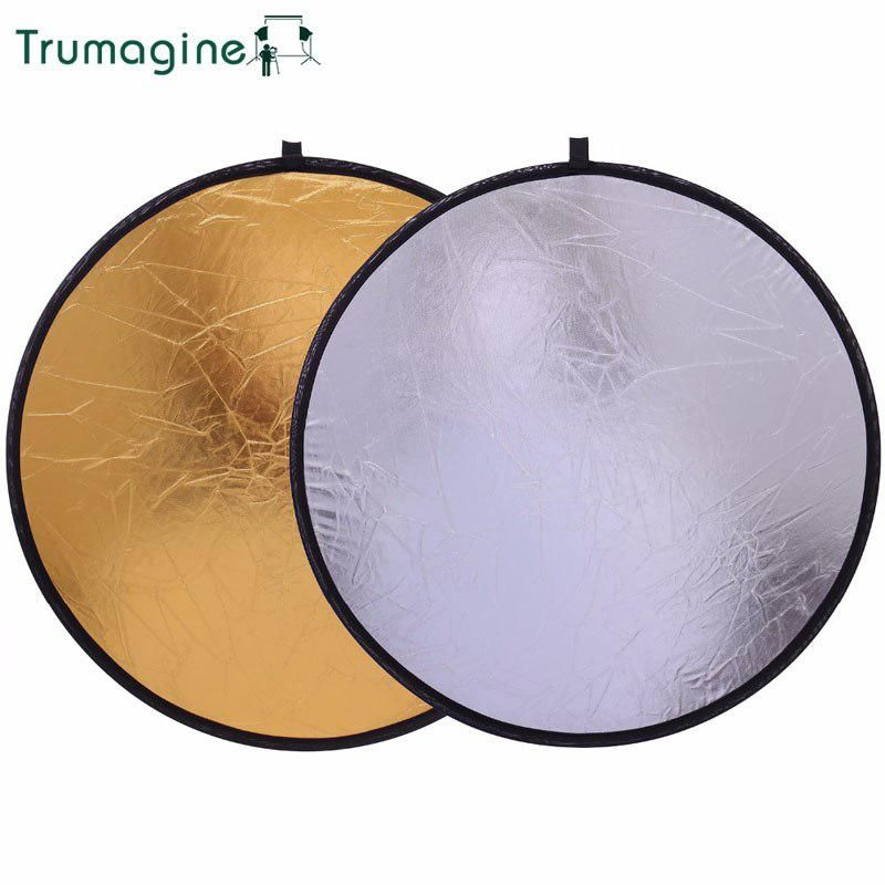50cm 20 2 In 1 Portable Light Round Reflector Collapsible Photography Studio Reflector Shooting Light Reflector For Photo With Images Portable Light Reflectors