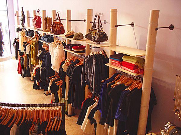 wall displays for retail | Madison Bleu Retail Store