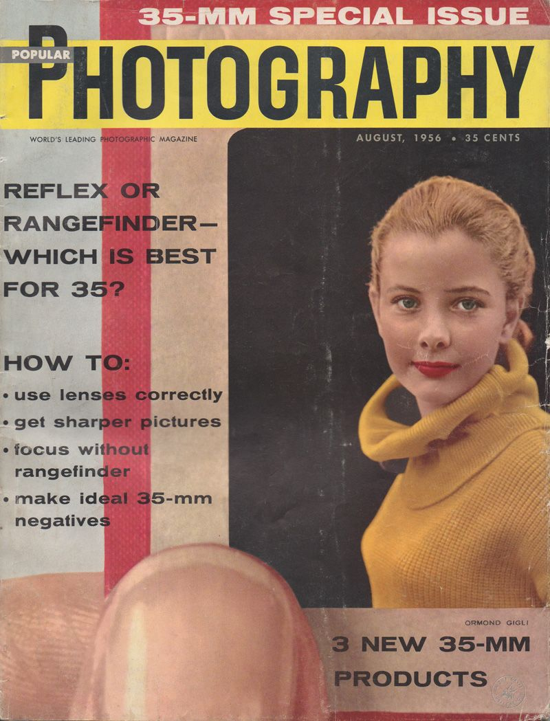 Classic Camera Advertising From Popular Photography