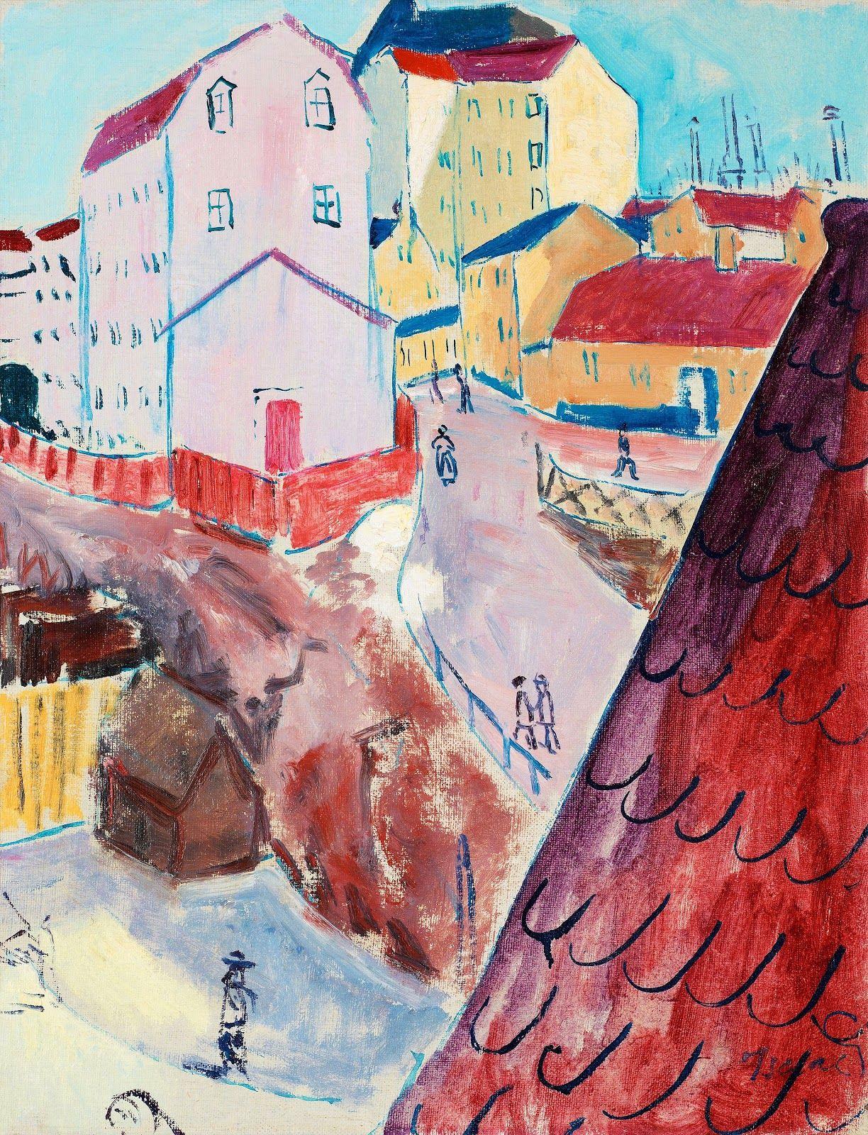 Isaac Grunewald Modern Expressionist Painter In 2020 Painting Art Scandinavian Art