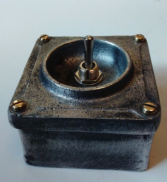 Vintage Industrial Light Switches