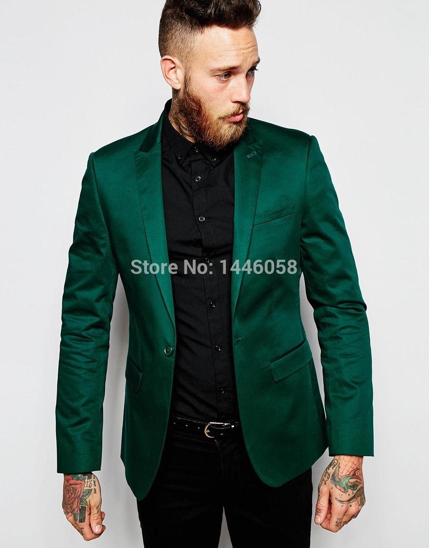 Men S Dark Green Suit Men S Fashion In 2019 Blazer Outfits Men