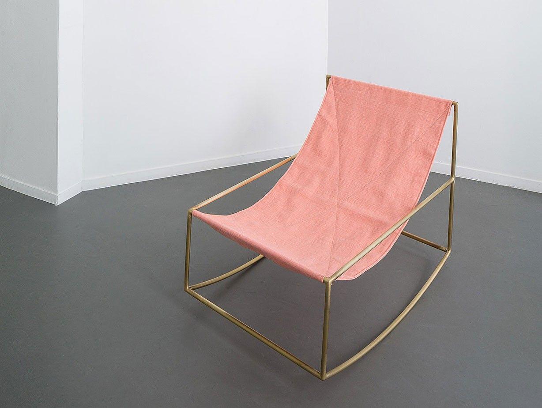 First rocking chair by muller van severen interiors pinterest