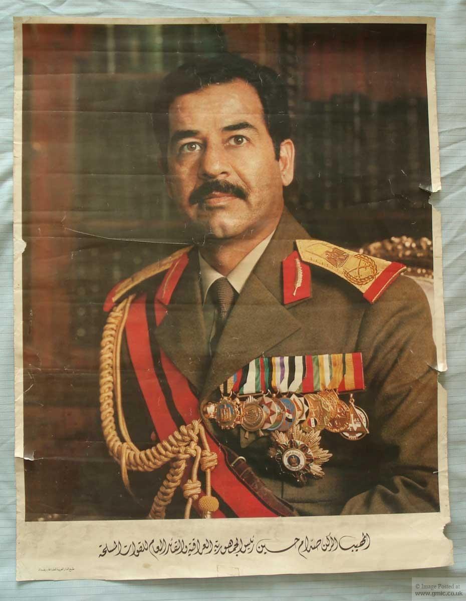 Saddam Hussein サッダーム・フセイン(アラビア語:صدام حسين 、英語 ...