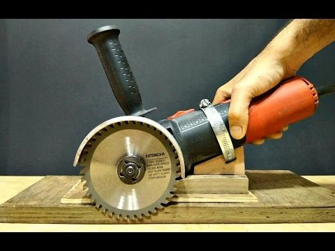 homemade angle grinder holder with multi functioning action youtube homes in 2019. Black Bedroom Furniture Sets. Home Design Ideas