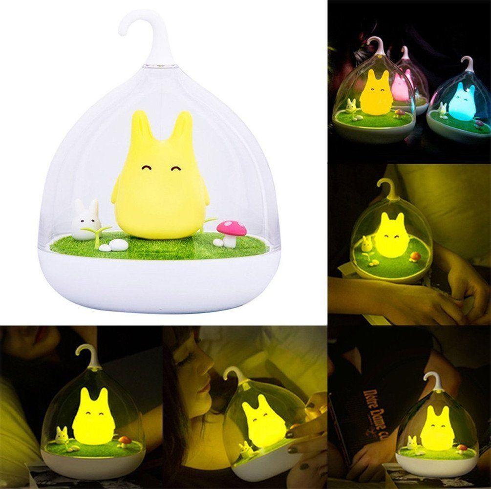 LATH.PIN Lampe de nuit Rechargeable Veilleuse LED Touch Détection ...