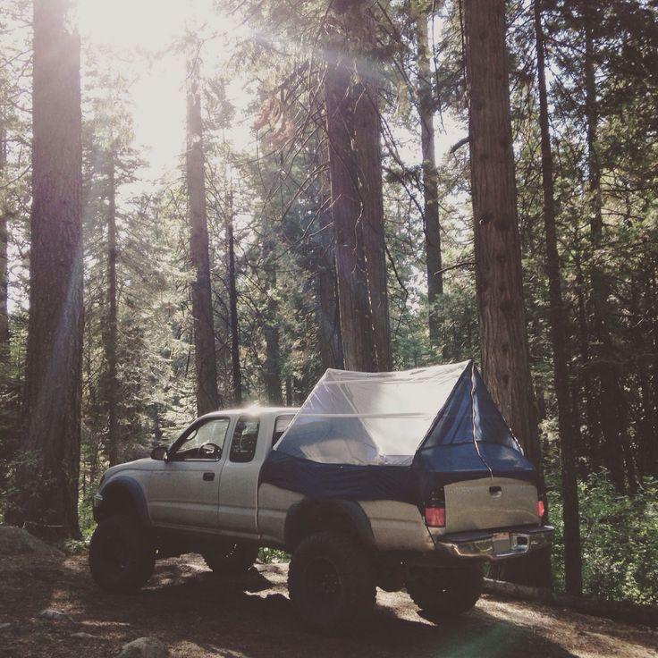 Truck Canopy Camping Ideas 46 truck, Truck