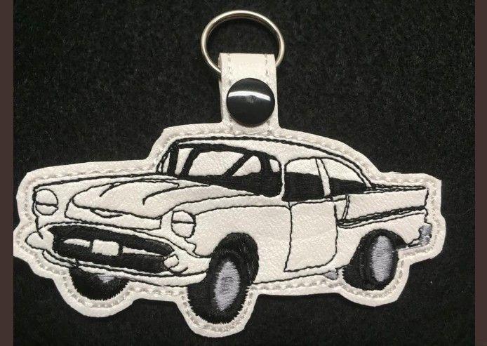 Classic 57 Chevy Key Fob